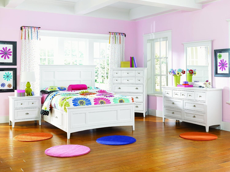 amazoncom magnussen kenley y187510 wood 5drawer chest kitchen u0026 dining - Magnussen Furniture