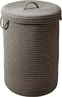 """product image for Simply Home Hamper w/lid - Gray 16""""x16""""x24"""""""