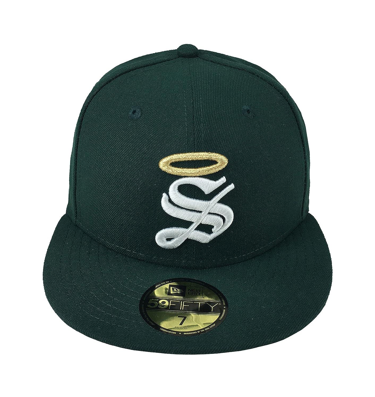 af4e74e72d ... new era 59fifty hat santos laguna soccer club mexican league green  fitted cap at amazon mens ...
