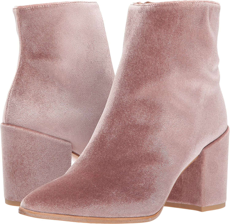 Stuart Weitzman Women's Trendy Ankle Boot B06XDF2QF1 10 C/D US|Candy Velour