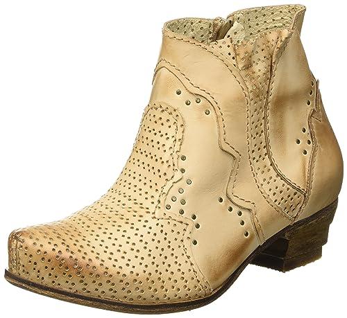 RoversRovers - Botas y Botines Cowboy con Forro Mujer, Color Beige, Talla 37: Amazon.es: Zapatos y complementos
