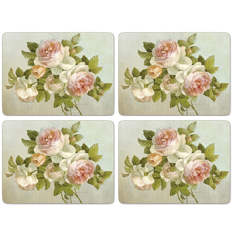 Amazon.com: Pimpernel Antique Roses Placemats - 4 Count: Home ...