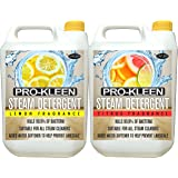 Pro-Kleen 5 Litres Lemon and 5 litres Citrus Fragrance Steam Detergent For Steam Mops + Built In Water Softener