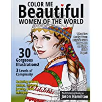 Image for Color Me Beautiful, Women of the World: Adult Coloring Book