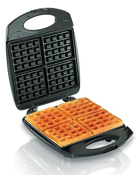 Amazon Com Hamilton Beach 4 Piece Belgian Waffle Maker 26020