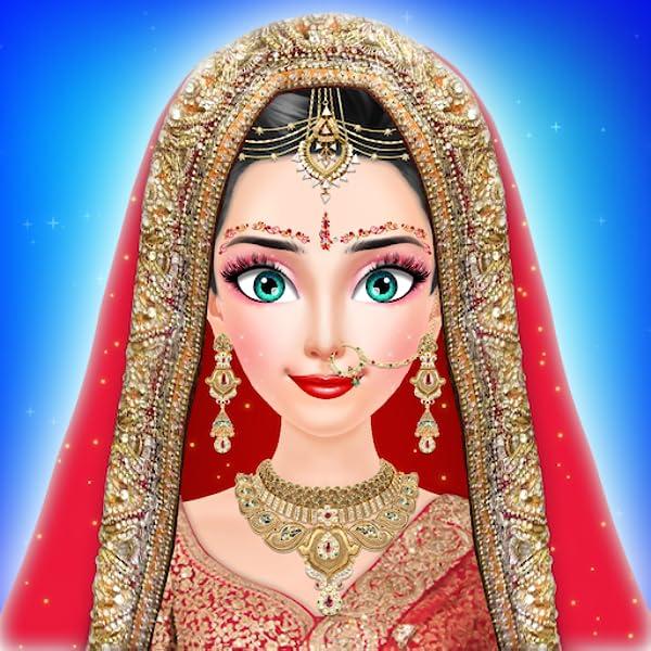 Amazon Com Royal Indian Girl Fashion Salon For Wedding Stylist Salon Game Wedding Salon Free Game For Girls