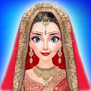 amazon com royal indian girl fashion salon for wedding stylist