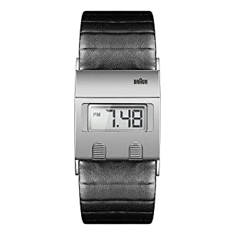 Braun Digital Range - Reloj digital para hombre, color negro/gris: Braun: Amazon.es: Relojes