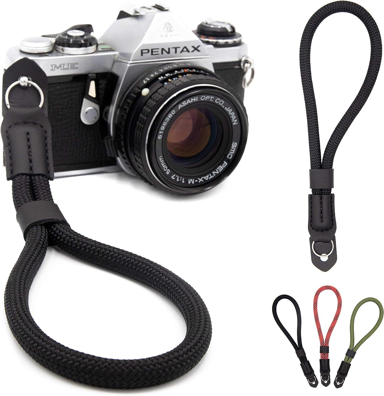 Lens Aid Handschlaufe In Seil Optik Für Kamera Kamera