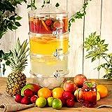 3 - Tier Drink Dispenser 7.5ltr | bar @ bevanda roba Tiered Beverage Dispenser, Dispenser succo, Punch Dispenser, Dispenser Lemonade