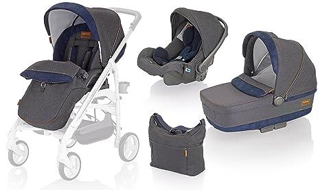 Inglesina AA35G6JNS Trio Trilogy System - Cochecito de bebé, silla de paseo, silla de