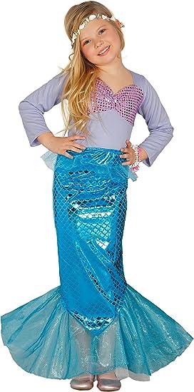 Guirca- Disfraz sirena, Talla 10-12 años (85835.0): Amazon.es ...