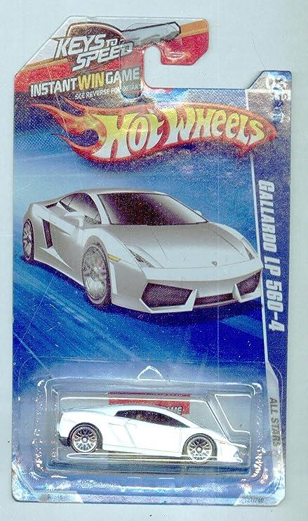 Amazon Com Hot Wheels 2010 121 240 All Stars 3 10 Gallardo Lp560 4