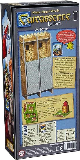 Devir - Carcassonne: La Torre, juego de mesa (BGCARTO): Amazon.es: Juguetes y juegos
