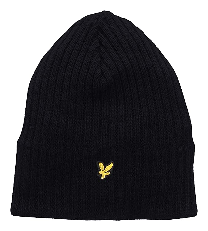 331ce53f0 Lyle & Scott Men's Knitted Ribbed Beanie