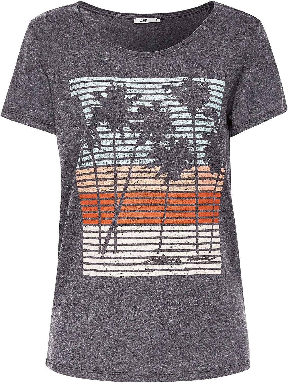 edc by Esprit 079cc1k020 Camiseta, Negro (Black 001), Medium para Mujer: Amazon.es: Ropa y accesorios