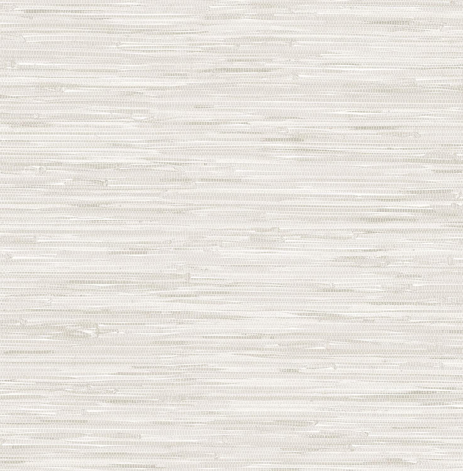 NuWallpaper NU2875 Grassweave Cream Peel and Stick Wallpaper