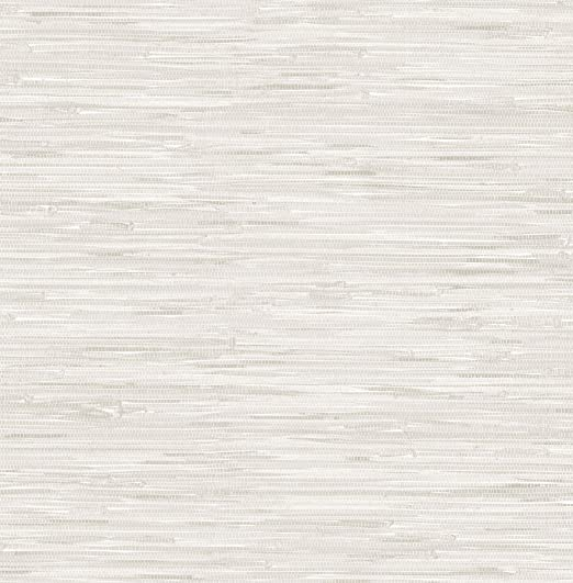 Vinyl Coated Paper Cream Grassweave Peel and Stick Wallpaper
