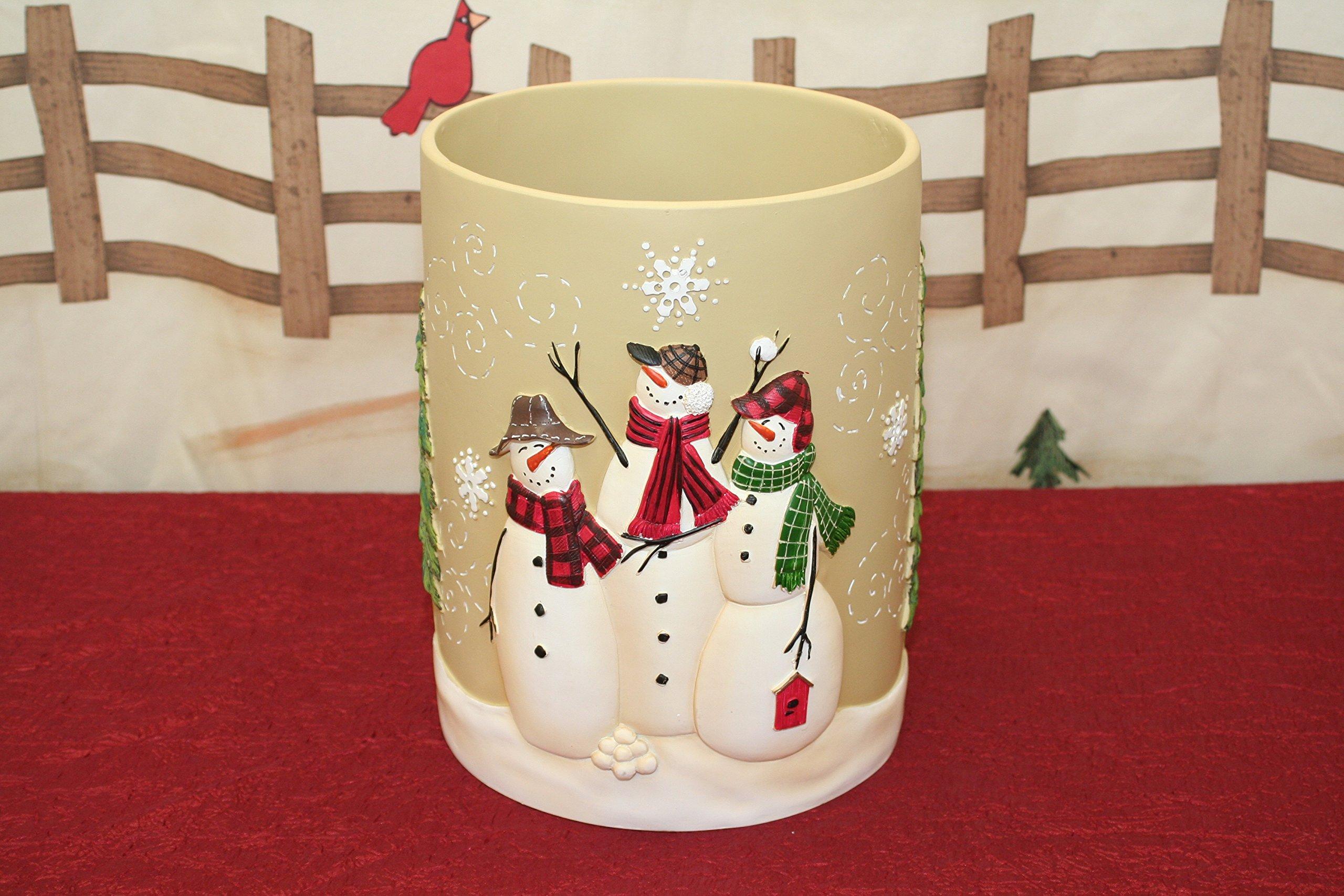 Tall Snowman Christmas Collection (Basket)