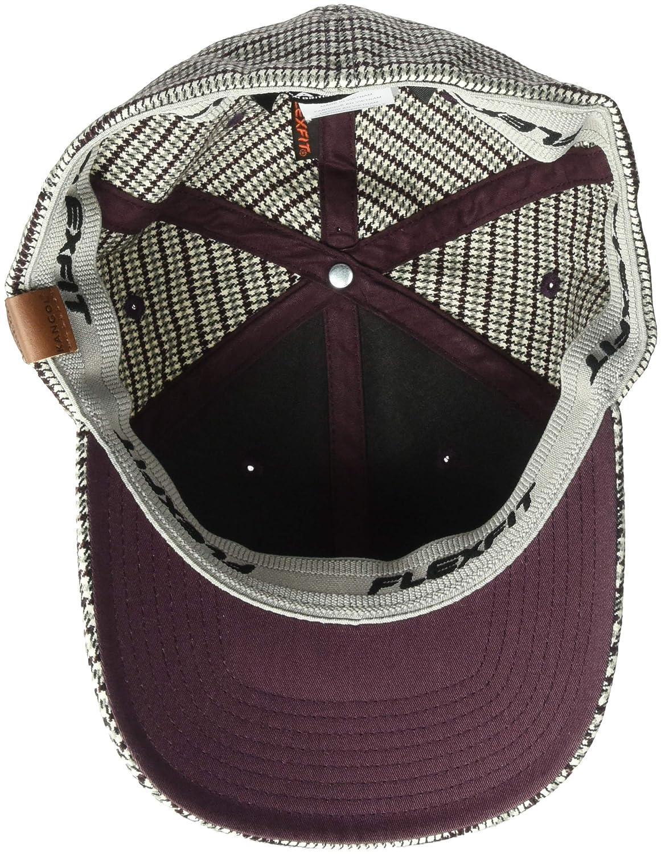 4342e512c Kangol Men's Pattern Flexfit Baseball Cap Hat: Amazon.in: Clothing ...