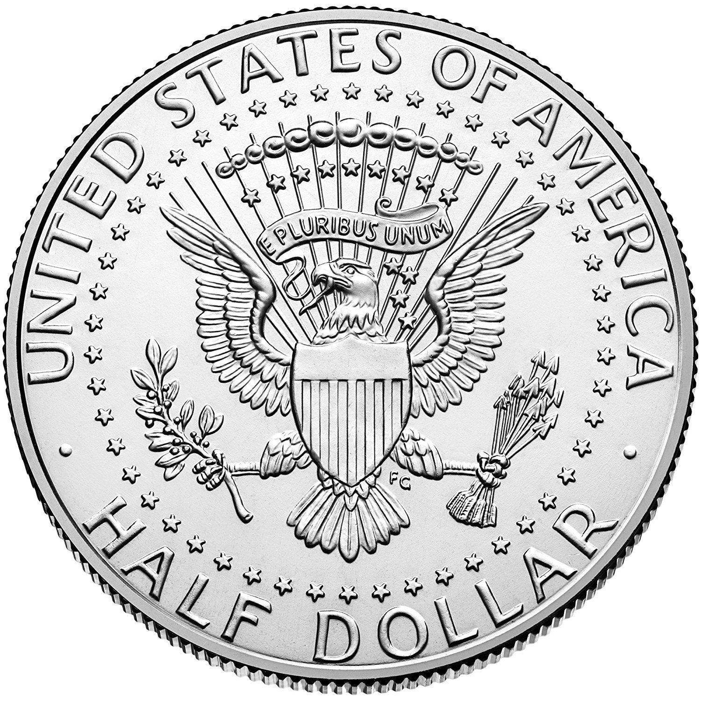 2017 P /& D Kennedy Half Dollar Clad Uncirculated