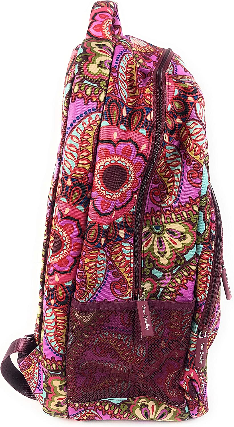 Vera Bradley Lighten Up Essential Large Backpack Resort Medallion