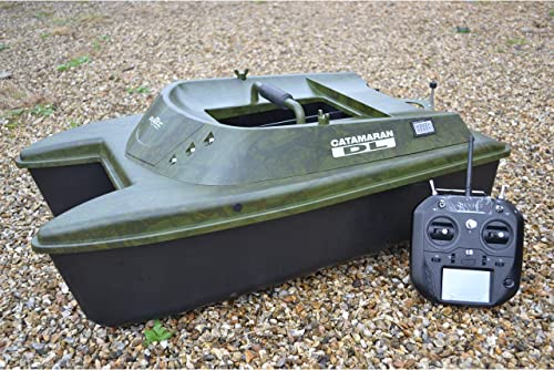Catamaran Bait Boat with Fish Finder [Anatec] detail review