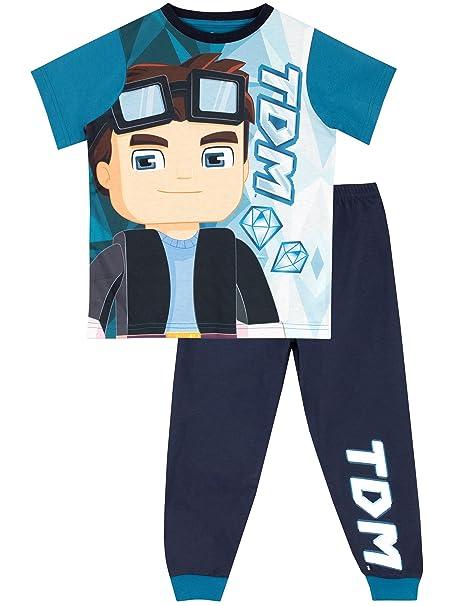 Tube Heroes Pijama para Niños Dan TDM Azul 5-6 Años