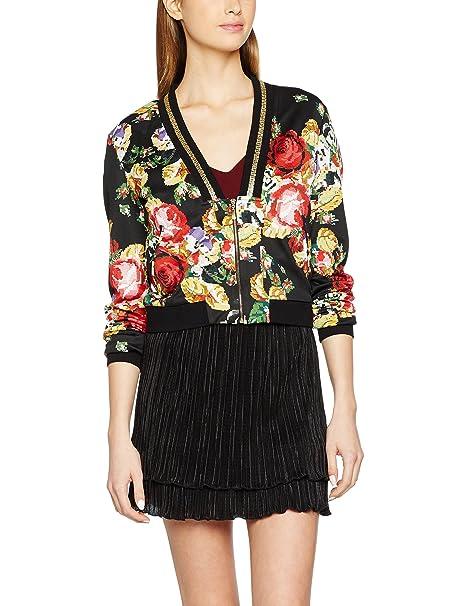 J10016 Abbigliamento Donna Nero it barbarella Small Cappotto Amazon 1Udnxwq7