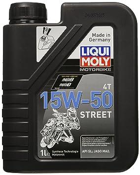 Liqui Moly 2555 Racing 4T 15W-50 - Aceite antifricción con tecnología sintética para motores