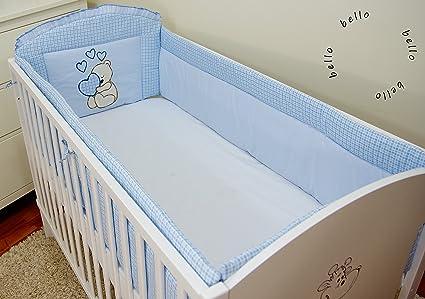 Paracolpi per lettino di neonato, dimensioni: 420 x 30 cm, 360 x 30 ...