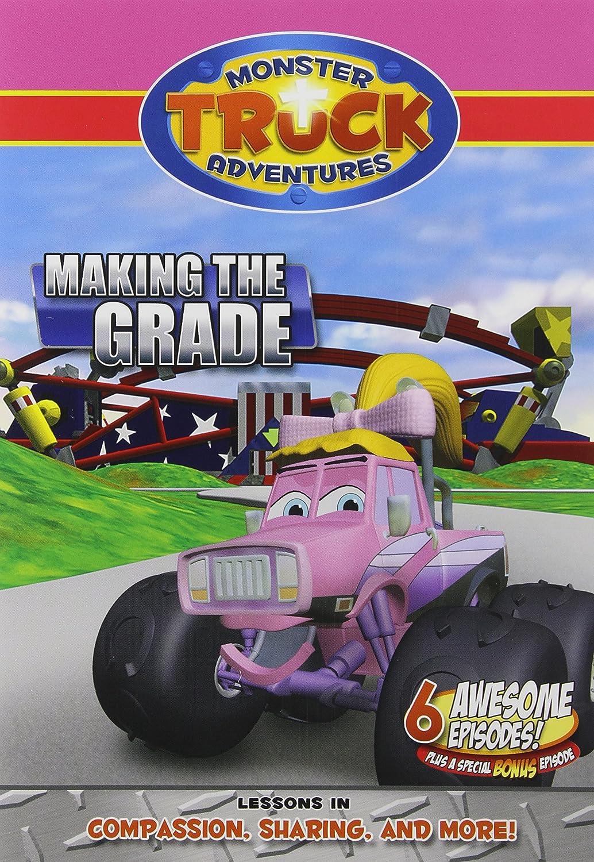 amazon com monster truck adventures making the grade monster