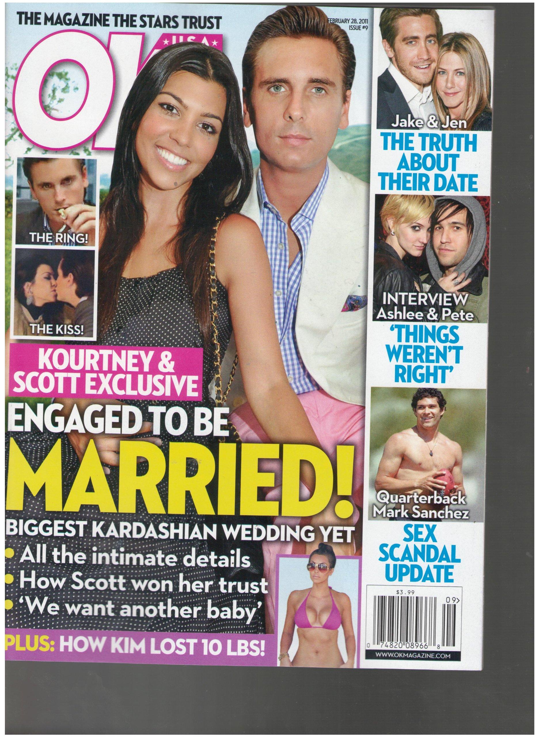 Ok Weekly Magazine (Kourtney & Scott Engaged to be married, February 28 2011) PDF