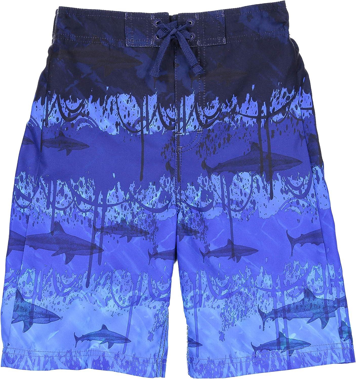 Tommy Bahama Boys Microsatin Swim Trunks