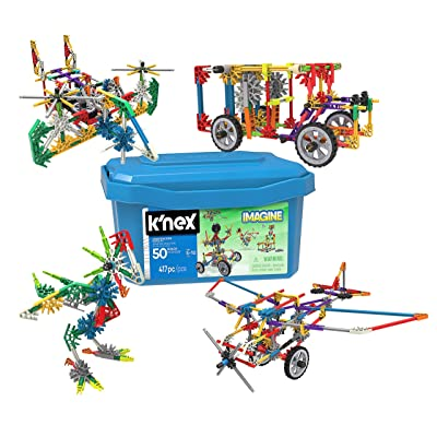 K'nex - Imagine Creation Zone Building Set: Toys & Games