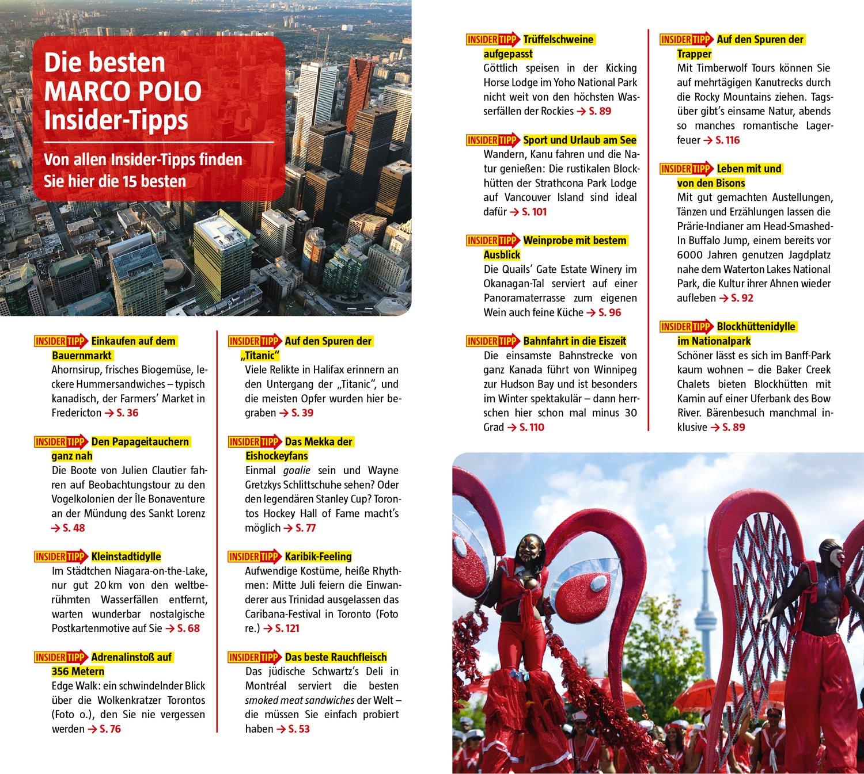 MARCO POLO Reiseführer Kanada: Reisen mit Insider-Tipps. Mit EXTRA ...