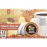 San Francisco Bay Cinnamon Crumb Cake 24 ONE CUPS for Keurig K-Cup Brewers