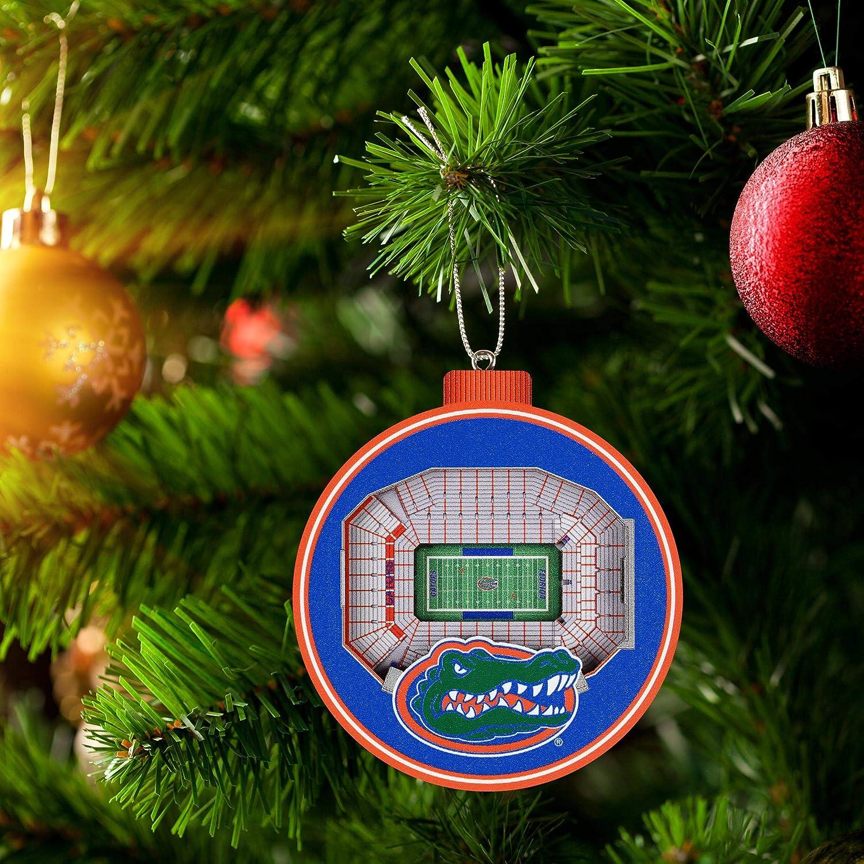Team Colors Large Spartan Stadium 3D StadiumView Ornament3D StadiumView Ornament YouTheFan NCAA Michigan State Spartans FB