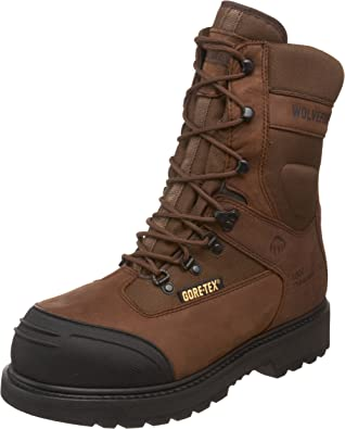 1000 Grams NEW Wolverine Men/'s Insulated BIG SKY 8-Inch Hunting Work Boot