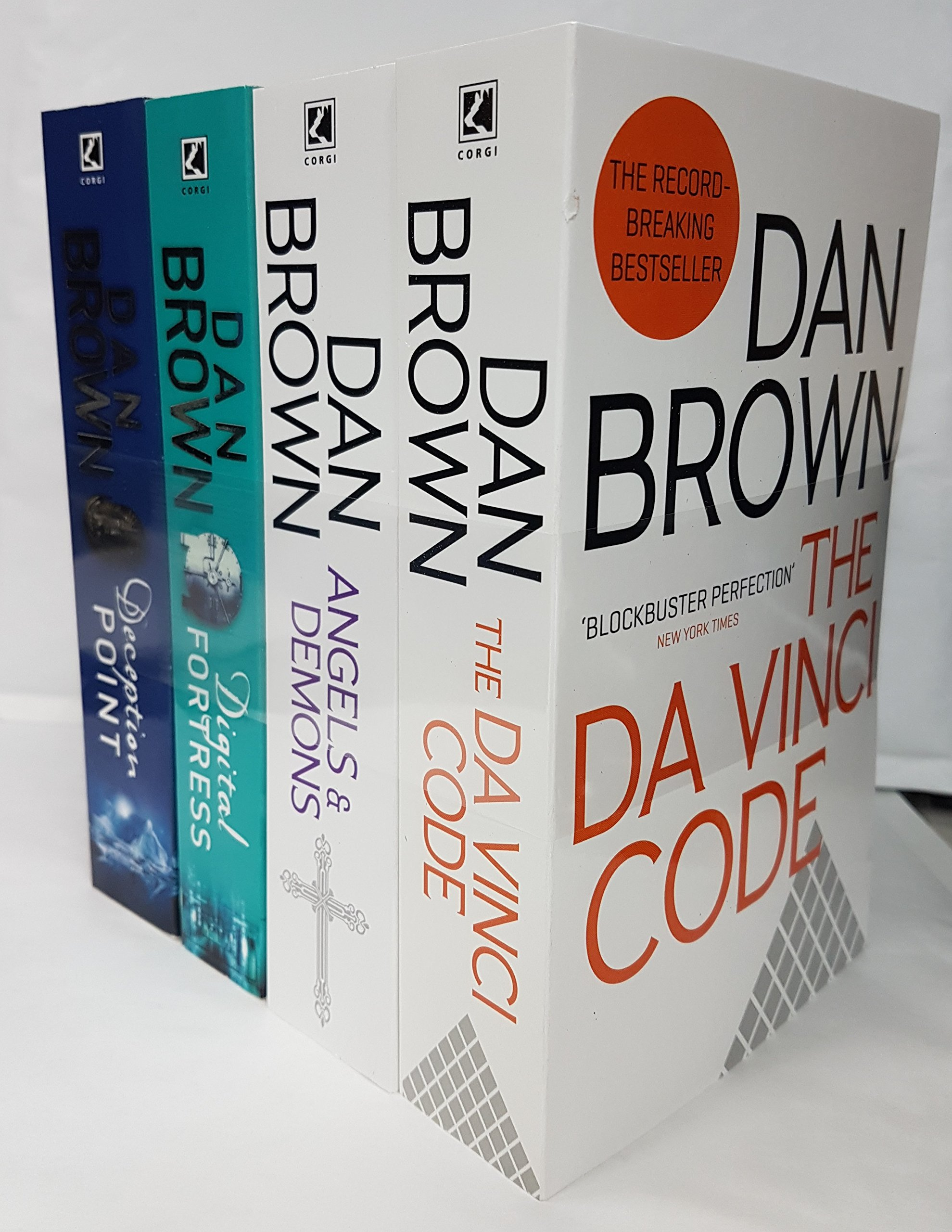 Dan brown 5 books collection set rrp 3895 the lost symbol dan brown collection 4 books the da vinci code angels and demons buycottarizona