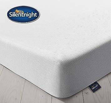 purchase cheap f8348 aeee8 Silentnight Comfort Foam Rolled Mattress, Made in the UK, Medium Soft, Euro  Single