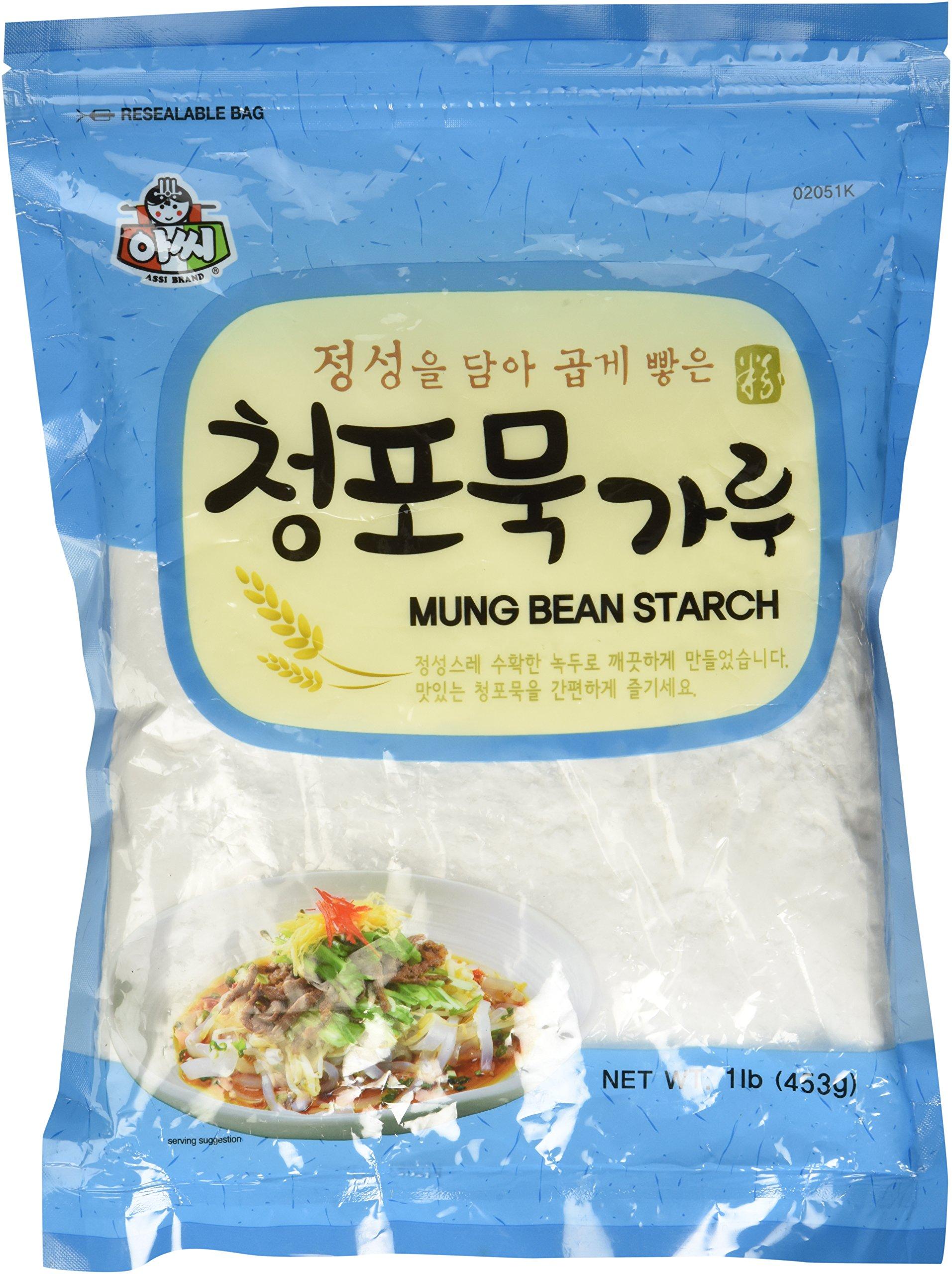 Amazon.com : Mung Bean Starch (Flour) 500g. : Wheat Flours
