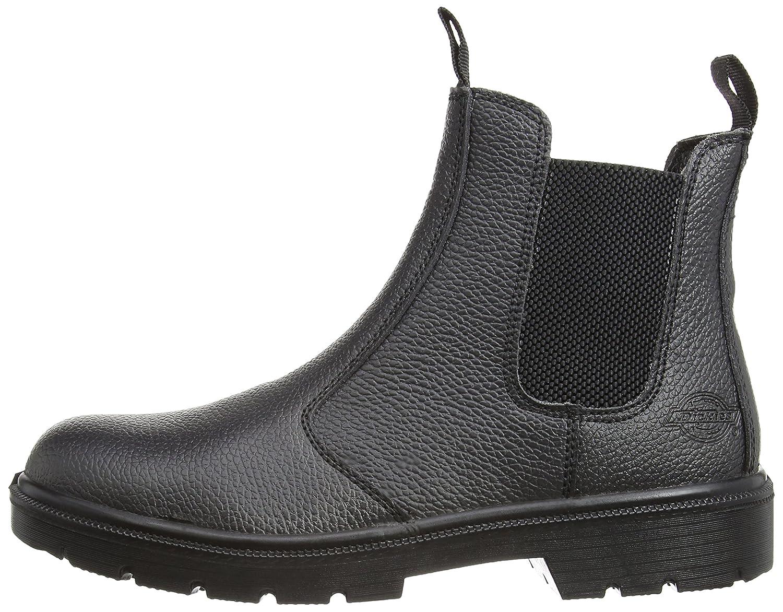 Dickies FA23345 BR 11 Boots haute s/écurit/éDealer S1-P Taille 45 brun,