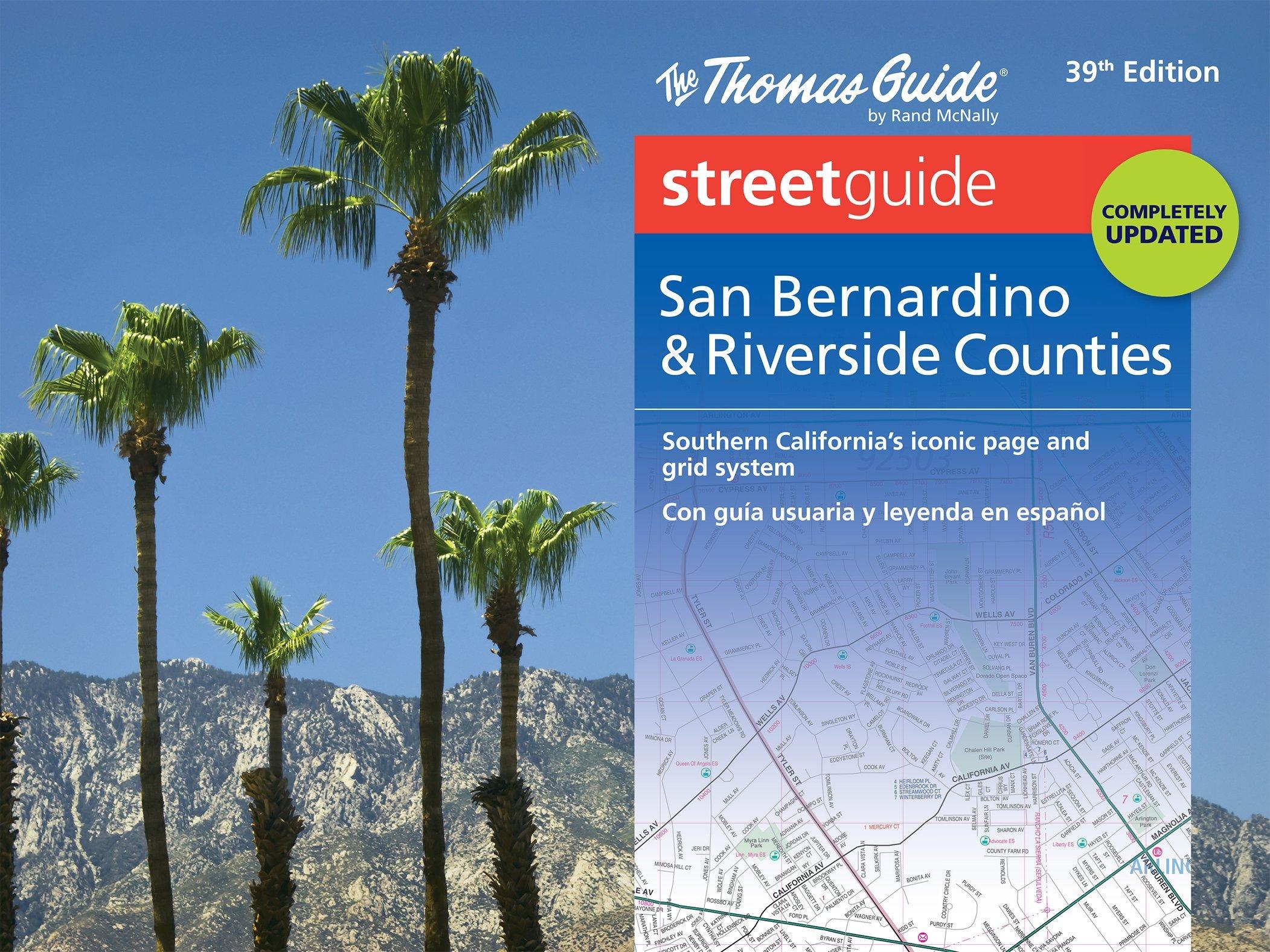 Thomas Guide: San Bernardino & Riverside Counties Street