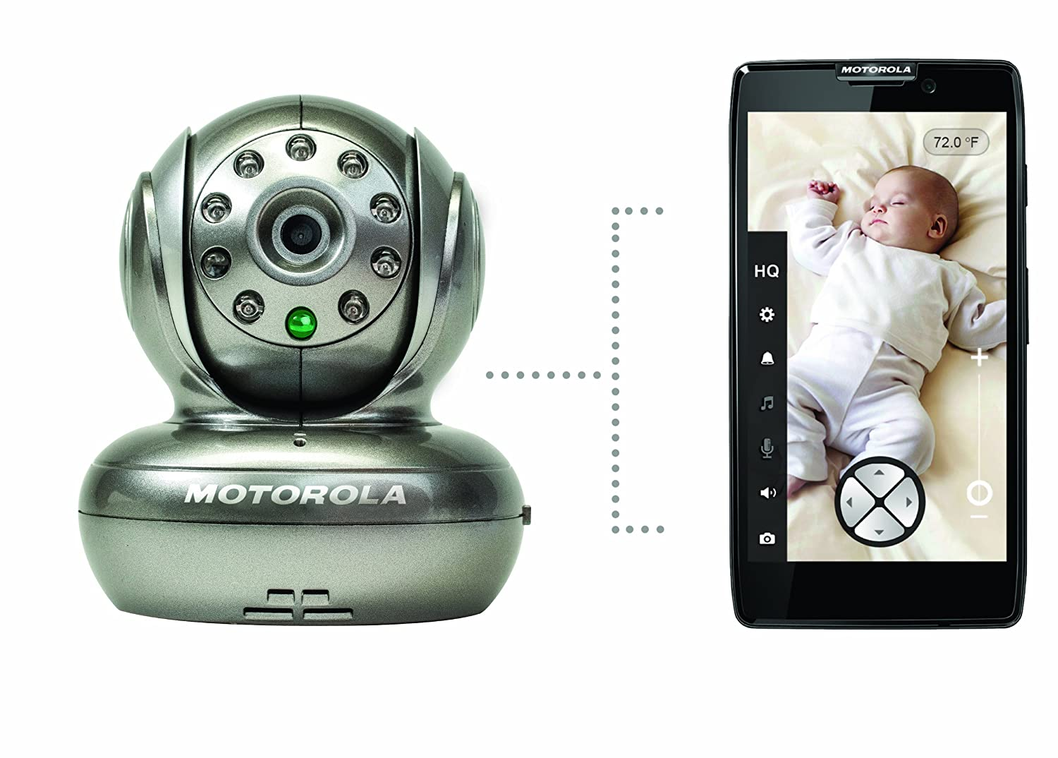motorola 3 5 video baby monitor. amazon.com : motorola blink1 wi-fi video camera for remote viewing with iphone and android smartphones tablets, silver baby audio visual monitors 3 5 monitor