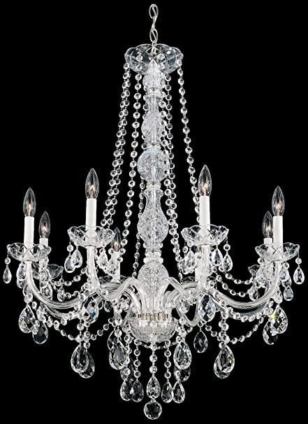 Schonbek 1305 40h swarovski lighting arlington chandelier silver schonbek 1305 40h swarovski lighting arlington chandelier silver mozeypictures Image collections