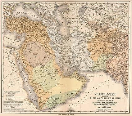 Amazon world atlas 1886 asia syria arabia iran and turan world atlas 1886 asia syria arabia iran and turan balutschistan gumiabroncs Choice Image