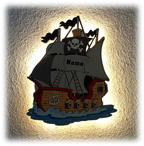 Pirata Regalos para niño niños Hombres Mujeres Barco Pirata ...