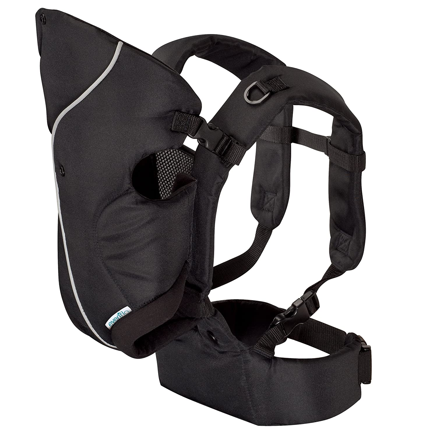 Evenflo Active Soft Carrier, Stealth (Discontinued by Manufacturer) 08511280