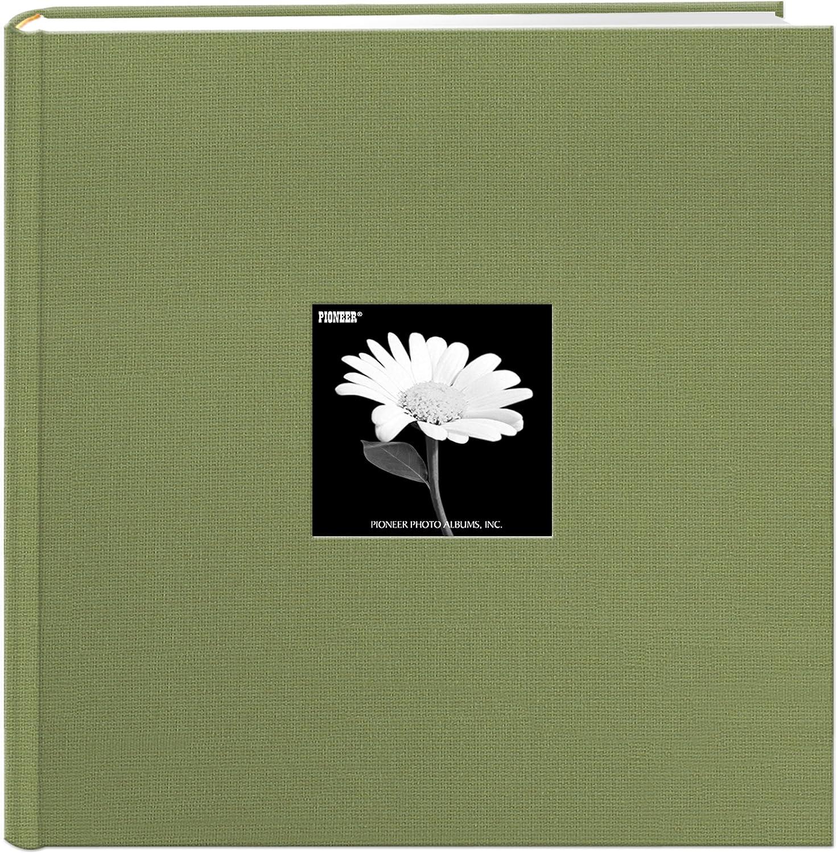 "Pioneer Photo Albums Extra Large Capacity Photo Album, 4"" x 6"", Sage Green"